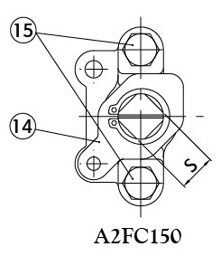WITHOUT GLAND - A2FC150